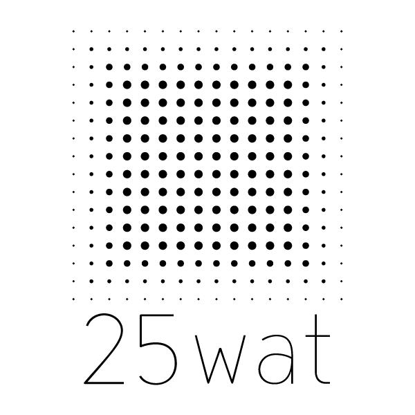 25wat